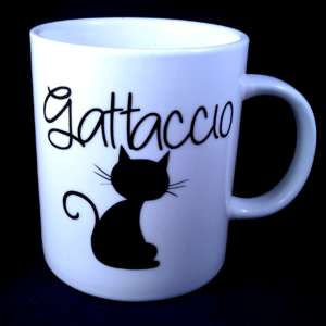 "alt=""mug-vinile-motivazionale-gatto-enjoy-the-little-things"""
