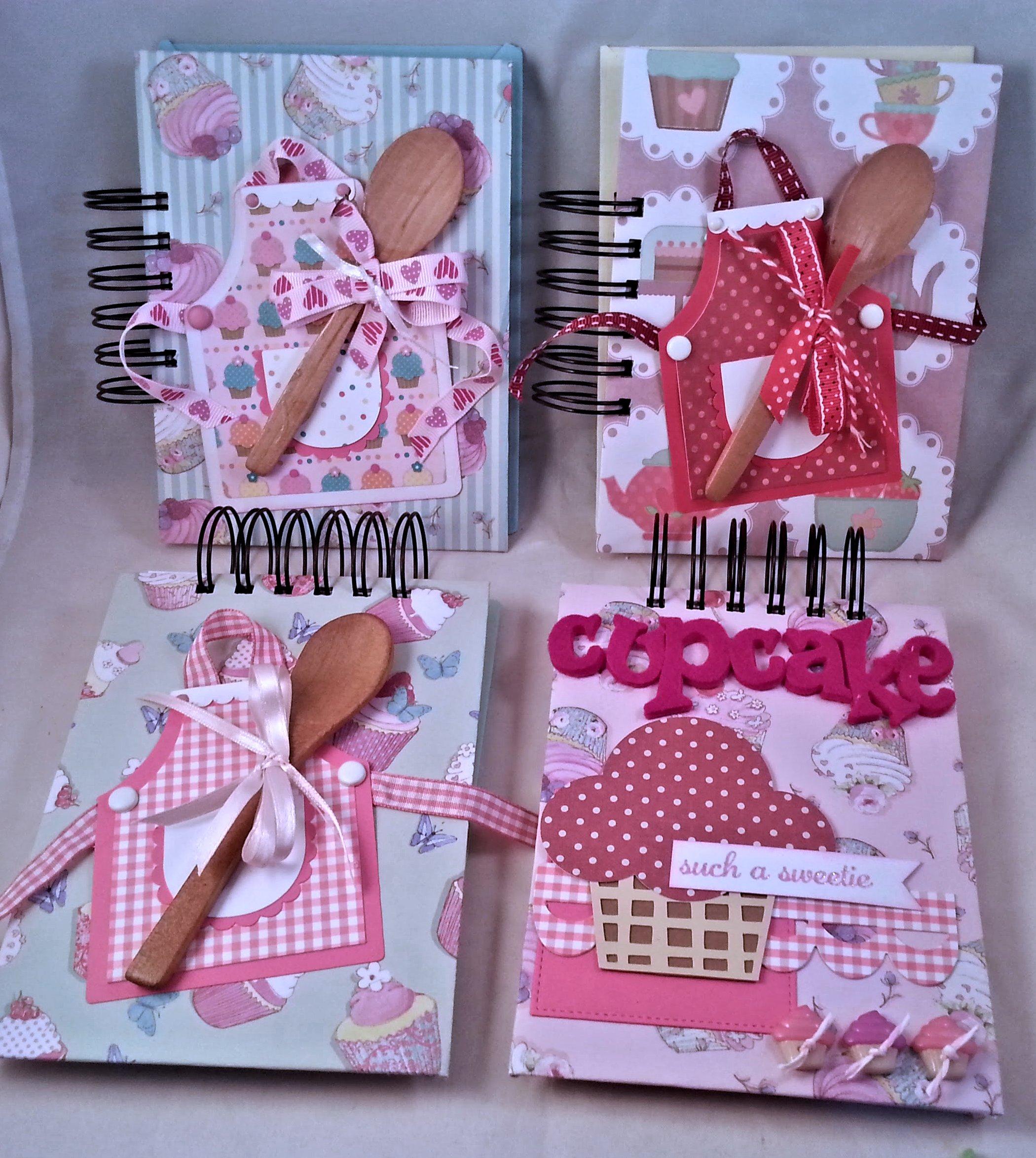 Quaderni di ricette, handmade in cucina!