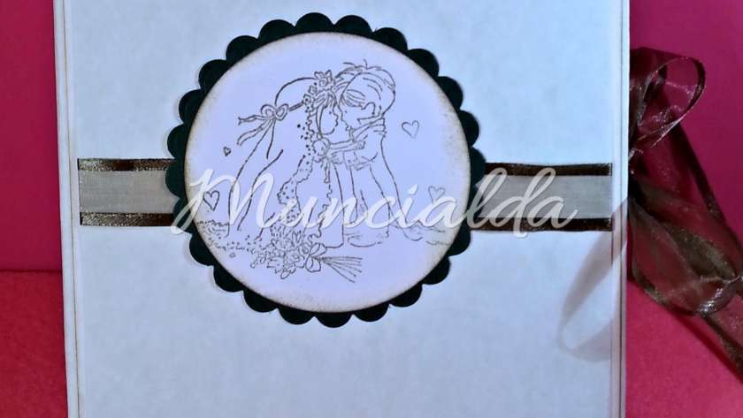 DVD USB COVER CASE: Custodia per matrimonio