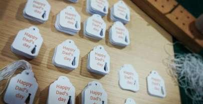 Etichette festa del papà