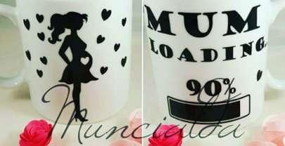 Mug gravidanza: mum loading 90%