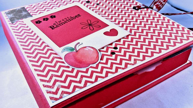 shadowbox card