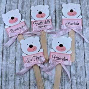 stecche confetti orsetto
