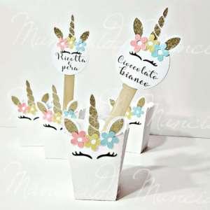 popcorn box unicorno