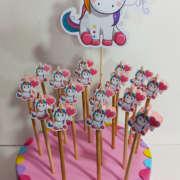 Fine festa matite unicorno