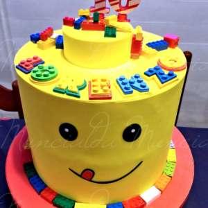 torta scenografica lego
