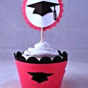 cupcake topper laurea